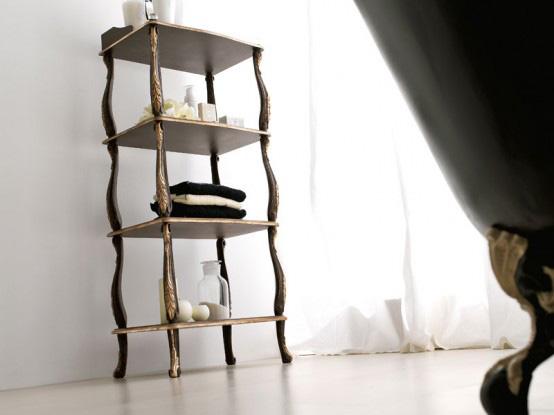 Дизайн ванной комнаты Savio Firmino - полка