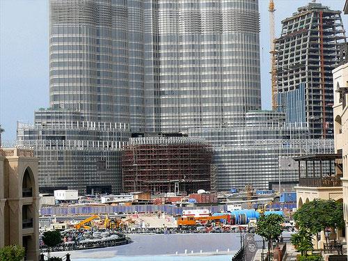 Башня Burj Dubai