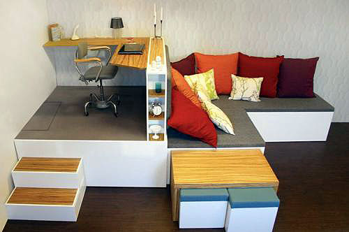 Идеи для маленьких квартир своими руками 95