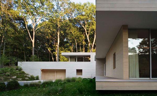 Дом с бассейном Holley House, проект дома