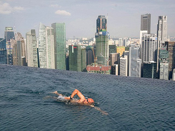 Отель Marina bay sands (Сингапур)