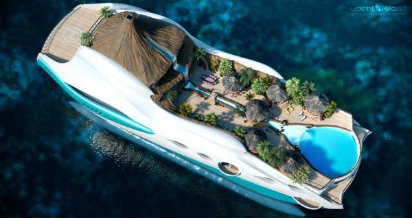 Яхта Tropical Island Paradise Superyacht
