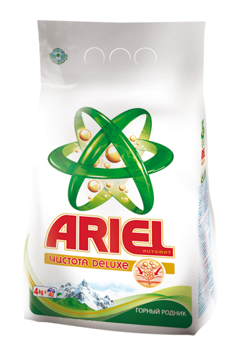 Ariel Чистота Deluxe 3D Actives – новый стиральный порошок для глубокой очистки