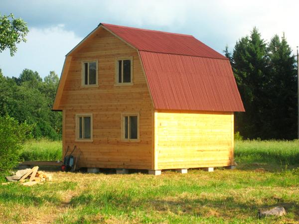 Дом из профилированного бруса 6х6 экологичны, ДБН В.1.1 –7–2002 «Пожарная безопасность объектов строительства». Деревянные дома из бруса, проект деревянного дома