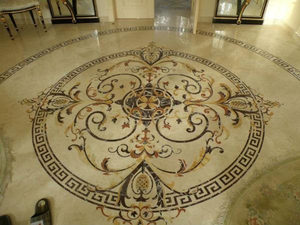 Мозаичное панно в интерьере