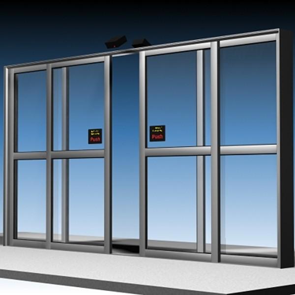 Автоматические и противопожарные двери, разновидности автоматических дверей
