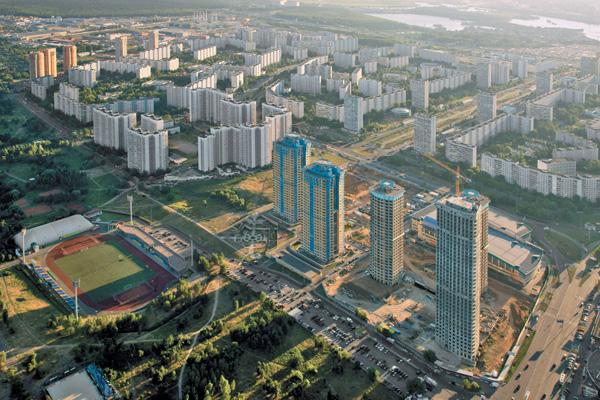 Рынок нового жилья Москвы и области