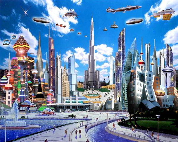 Проблема будущего в архитектуре города