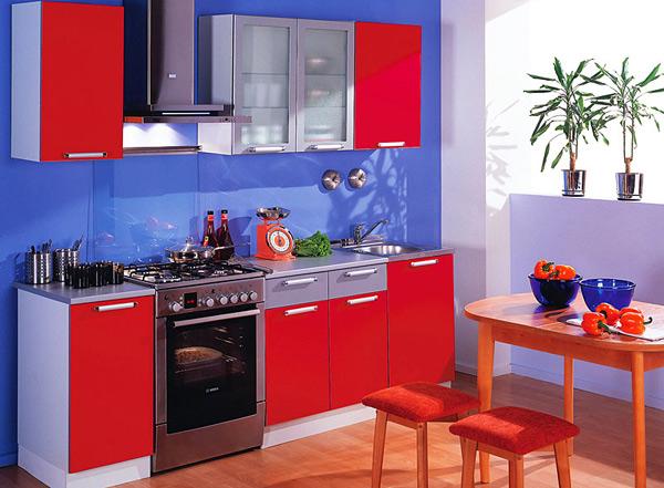 Интерьер кухни: мебель и материалы отделки