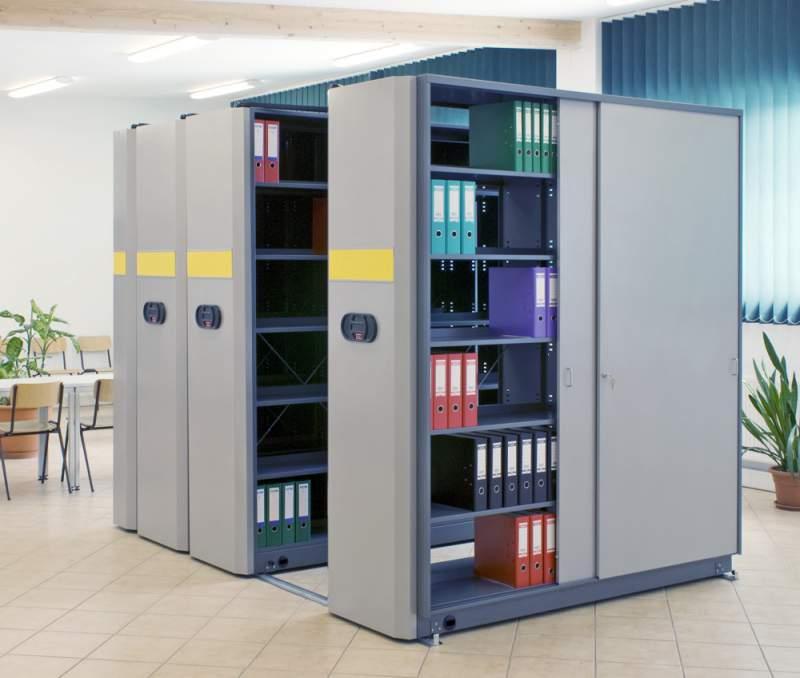 Офисные стеллажи для хранения архива