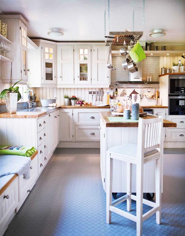 Кухня в норвежском стиле. Кухня в скандинавском стиле