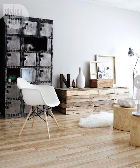 Бюджетный модный интерьер с мебелью в стиле IKEA