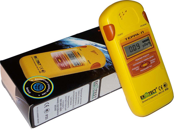 Портативные дозиметры для радиологического контроля на стройке