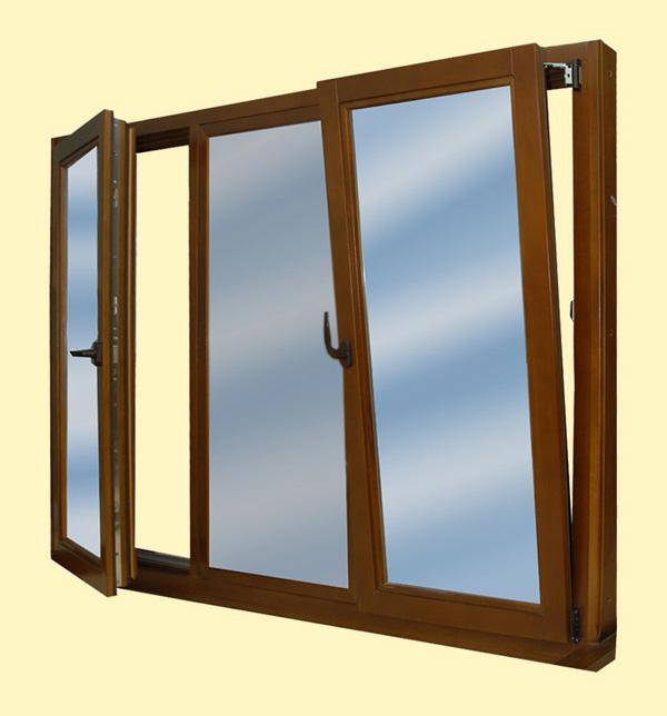Пластиковые и деревянные окна