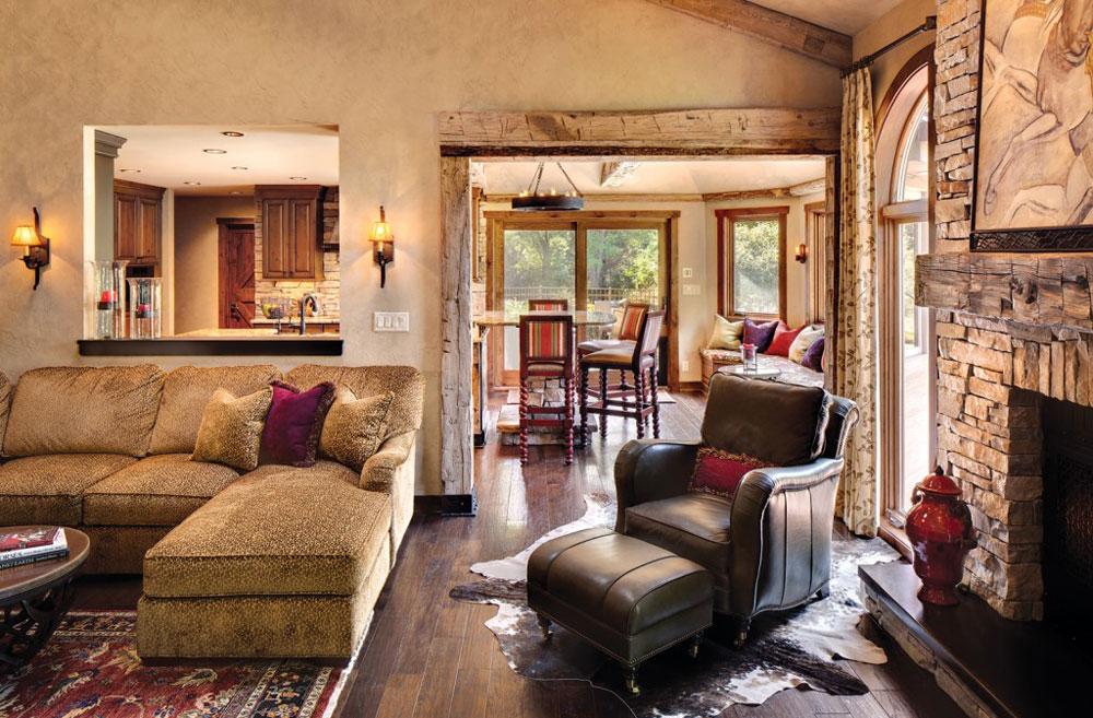 Rustic Modern Interior Design Rustic Style