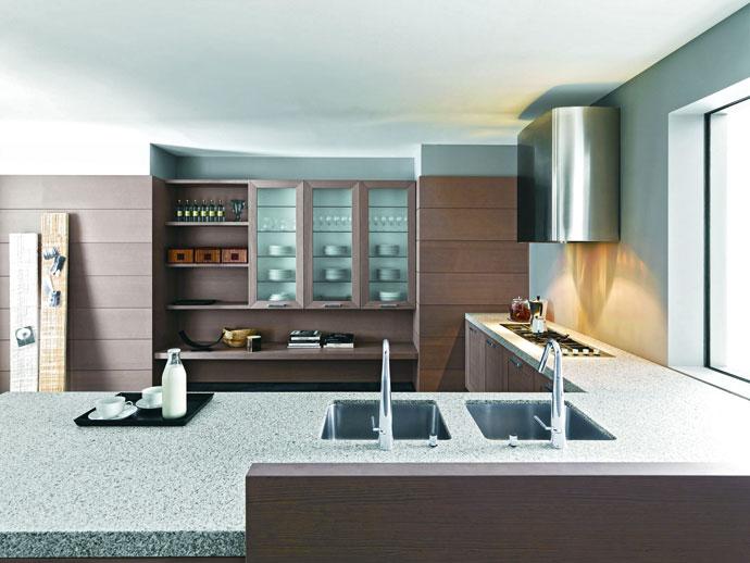 Кухни модерн – готовые и на заказ