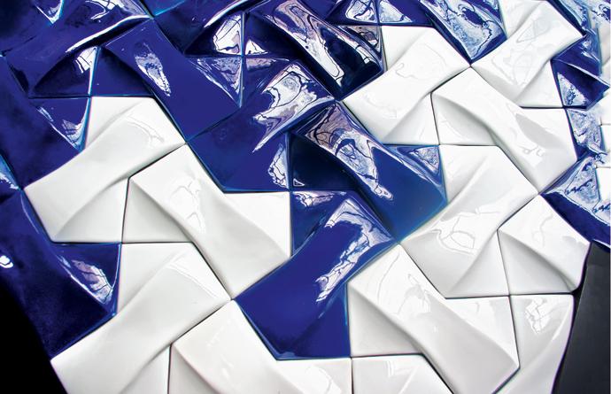 Керамическая глянцевая плитка