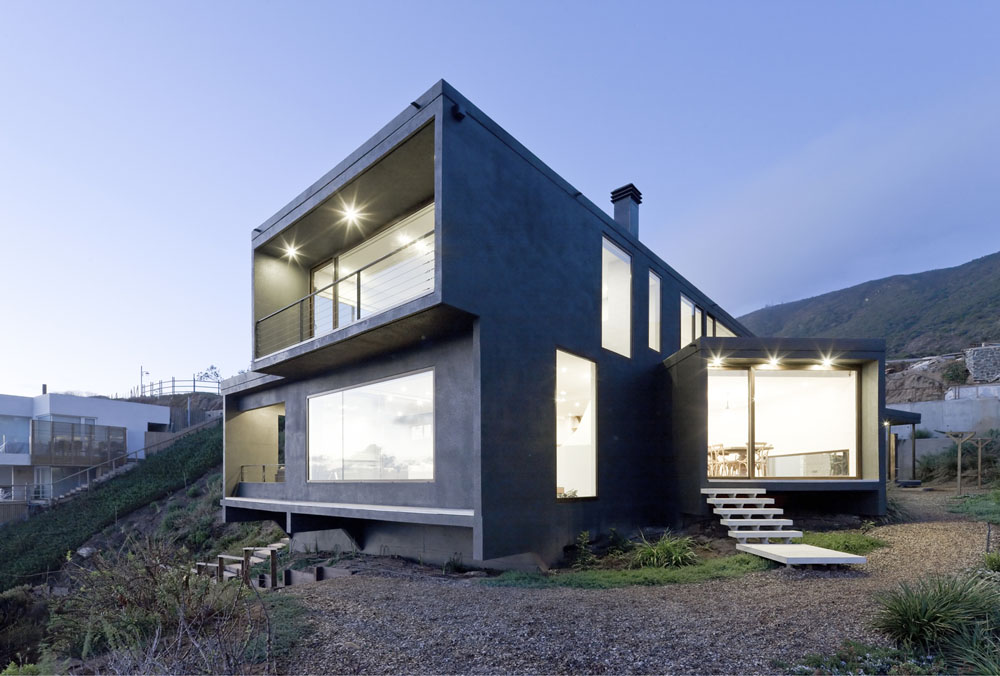 Catch the views home by land arquitectos