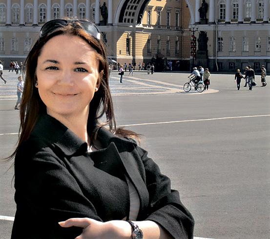 Алена Клименко, PR-специалист представительства Hansgrohe AG в Украине