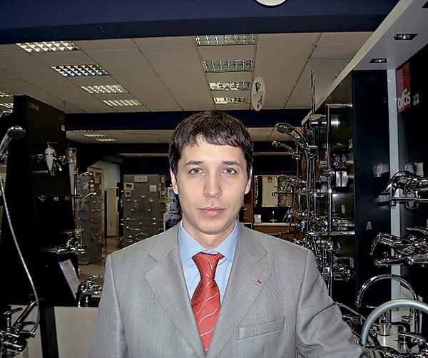 Алексей Брунько, старший региональный представитель Oras Oy в Украине