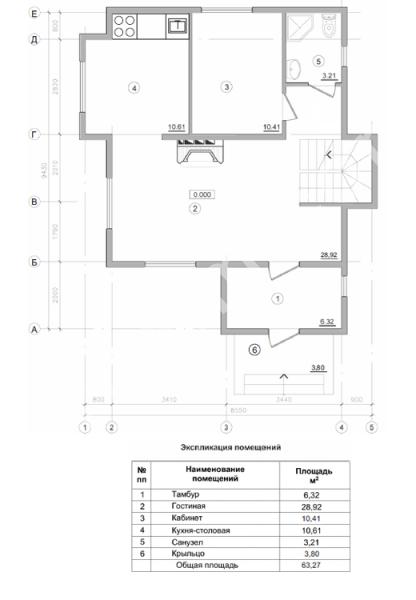 Планировка двухэтажного небольшого дома фото