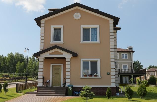 Небольшой дом Виктория выполненный по канадской технологии в коттеджном городке Green Hills