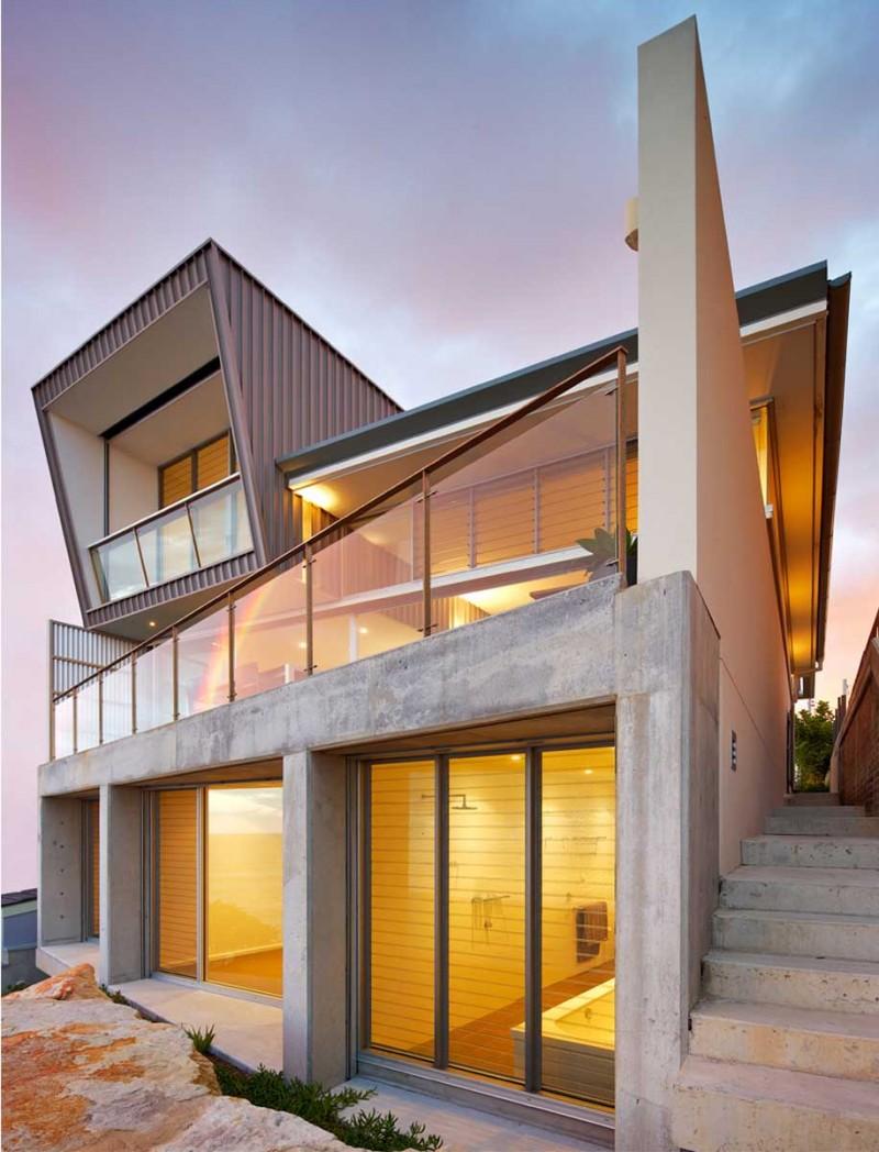 Дом оригинальной формы в Сиднее (Австралия)
