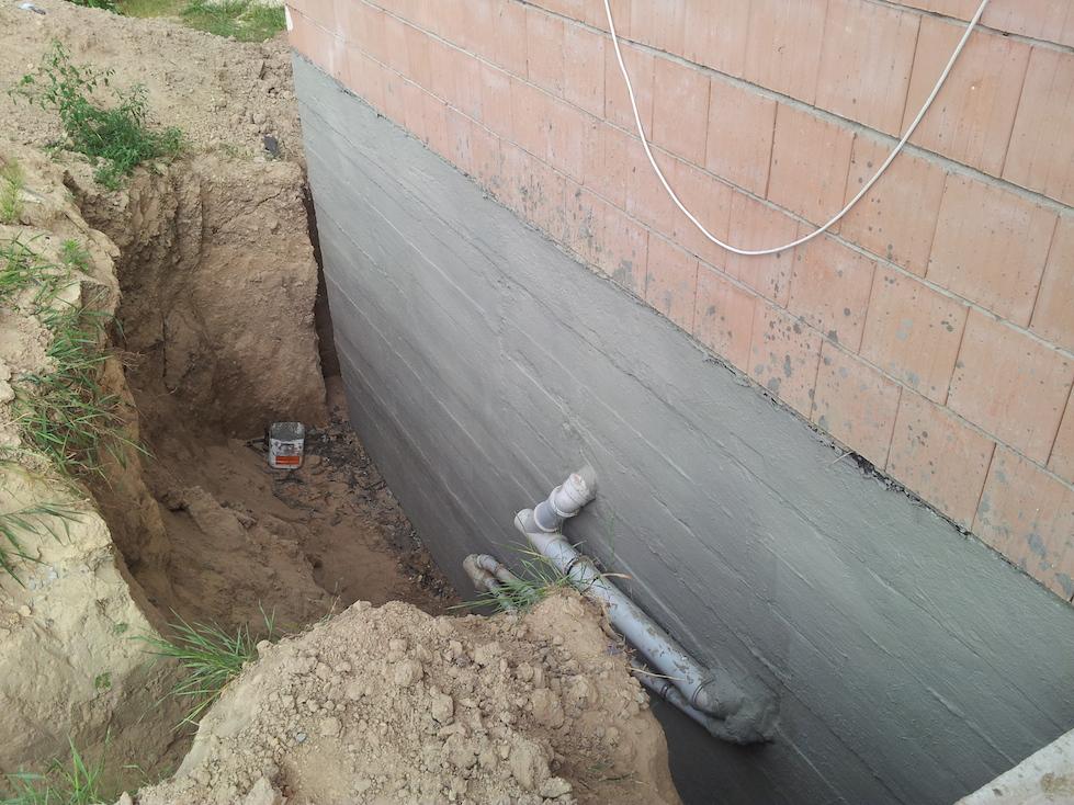 Как защитить подвал от воды - гидроизоляция и дренаж