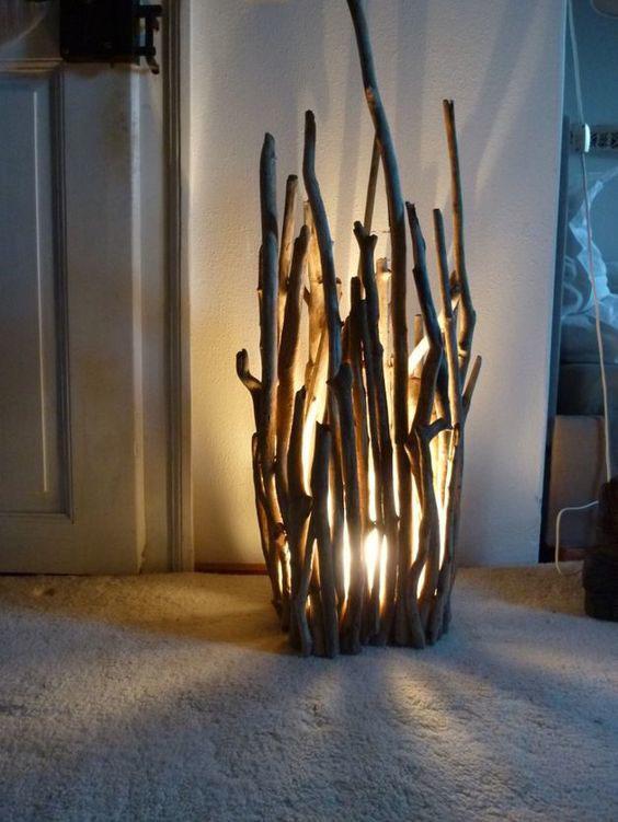 Декоративные светильники своими руками