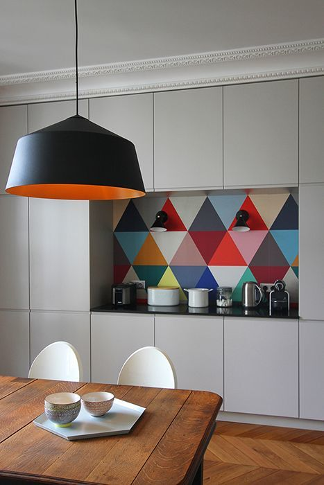 Интерьер кухни - цвета