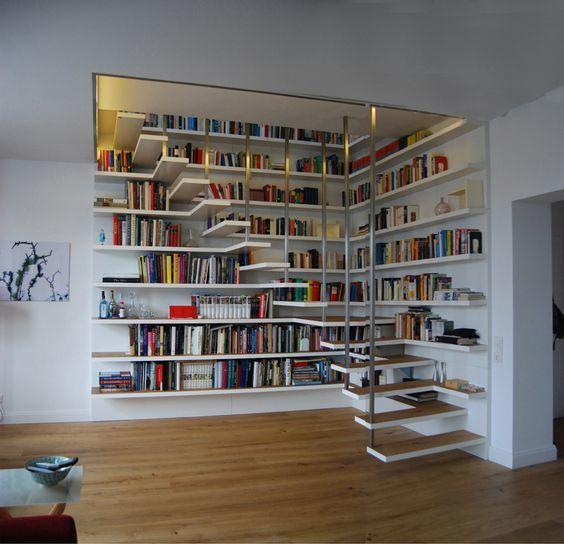 Домашняя библиотека - шкафы