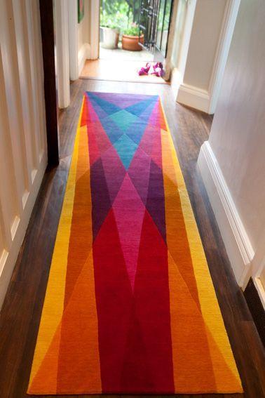 ковры в коридоре ФОТО