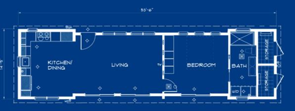 сборные дома IKEA