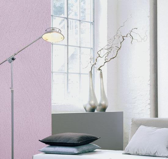 Стены, окрашенные красками Caparol
