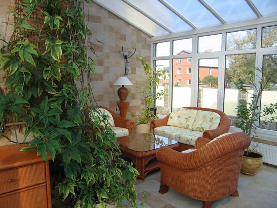 Зимний сад - настоящий уголок природы и отдыха в доме