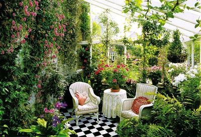Вечнозеленый зимний сад
