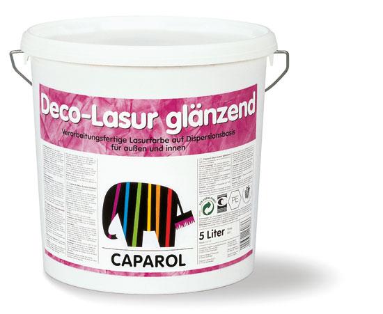 Декоративная глазурь Caparol Deco-Lasur