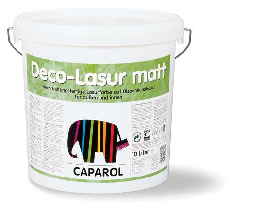 Декоративная лазурь Caparol Deco-Lasur