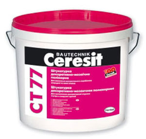 Декоративная мозаичная штукатурка Cerezit CT-77