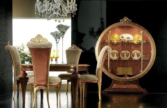 Мебель для столовой коллекции Tiffany фабрики Altamoda Италия