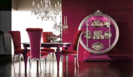 Мебель для столовой коллекции Tiffany Altamoda Италия