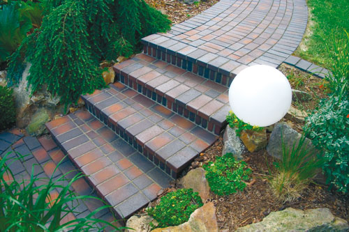 Садовые дорожки - клинкерная плитка