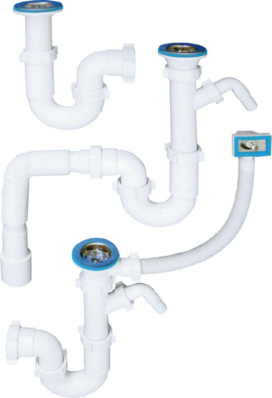 Разновидности сифонов для канализации