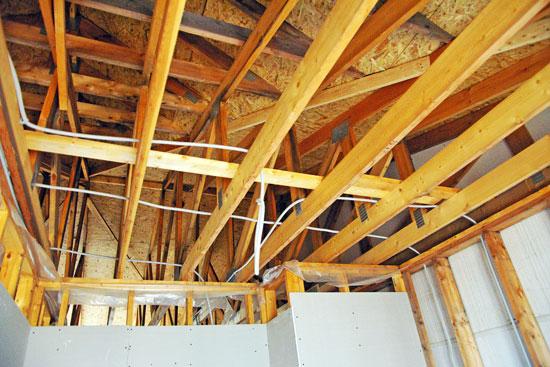 Крыша, конструкция деревянной крыши