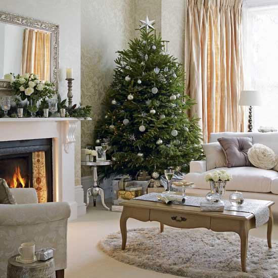 Рождественский интерьер
