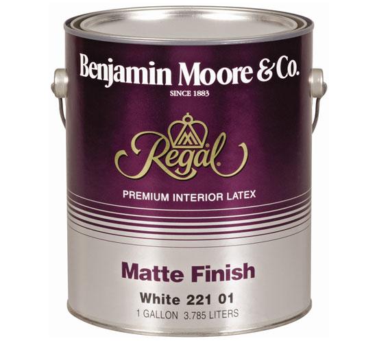 Акриловая краска Regal Matte Finish 221 компании Benjamin Moore