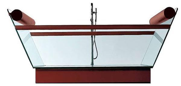 Ванна, стеклянная ванна