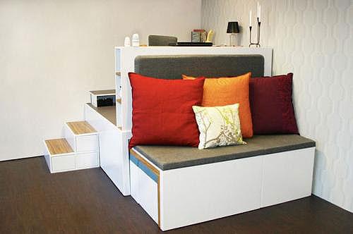 Многофункциональная мебель для маленькой квартиры – фото