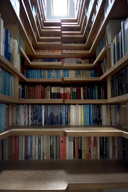 Книжная лестница