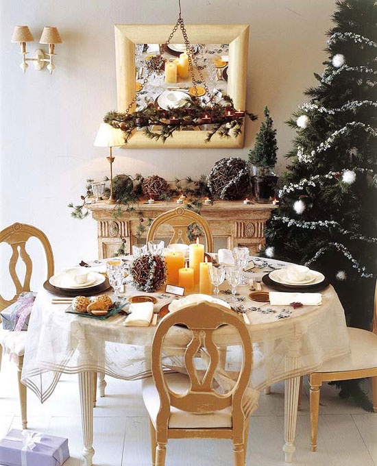 Сервировка стола на Новый год и Рождество: фото